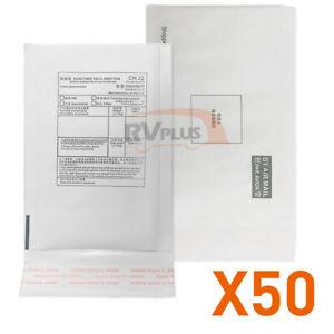50 Pcs 130 x 170mm Cushioned Mailer Bubble Envelope White Padded Bag