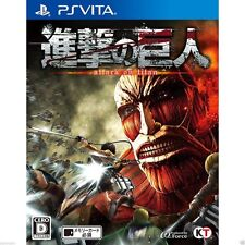 Shingeki no Kyojin PS Vita SONY JAPANESE NEW JAPANZON