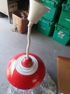 Adjustable Pendant Lamp - Red New