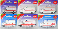 Siku Super 0805 Mercedes-Benz Sprinter (t1n) Box Car Ambulance, CA. 1:74
