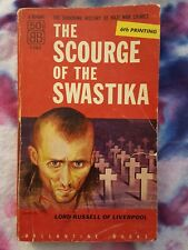 """1954 """"The Scourge of the Swastika"""" account of Nazi war crimes with photographs"""