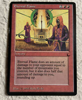 Eternal Flame Played The Dark 1994 Reserved List Mtg Magic the Gathering
