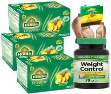 Hindu Green Tea with Pineapple Flavor 20 Pack of 3-total 60 bags detox + weight