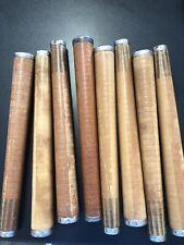Vintage Textile Tubes Fiber Wool Bobbins