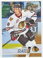 2017-18 Upper Deck CHL RAINBOW ROOKIE RC Cody Glass  #25