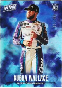 BUBBA WALLACE RC 2018 PANINI FATHER'S DAY ROOKIE HOLOFOIL /399 CARD # 69 NASCAR