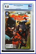Batman The Dark Knight #9 CGC Graded 9.8 DC July 2012 White Pages Comic Book