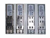 Agilent (Lot of 4) 1000BASE-SX 850nm SFP Transceiver Modules HFBR-5710L