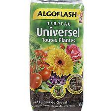 Terreau universel toutes plantes 6 litres Algoflash