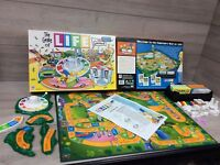 The Game Of Life The Simpsons Edition. TV Show Version Of Classic Board Game.