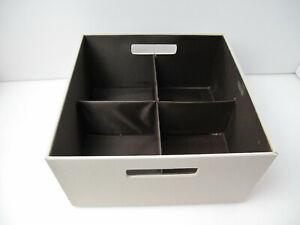 Rubbermaid Box Drawer Home Organizer Bins Closet 12x 12 x 6