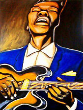 GRANT GREEN PRINT poster jazz gibson es 335 archtop guitar 330 idle moments cd