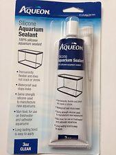 Aqueon All Glass CLEAR Aquarium Fish Tank 100% Silicone Sealant Caulk/Glue 3 oz