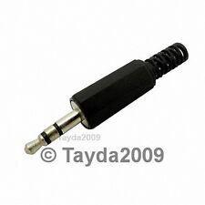 3 x 3.5mm Stereo Plug - High Quality - Free Shipping