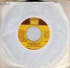 SMOKEY ROBINSON disco 45 giri  BEING WITH YOU Made in USA