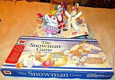 The Snowman Board Game RAYMOND BRIGGS - Vintage and pop up book and cd 3 items