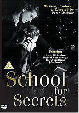 School For Secrets Dvd Ralph Richardson Brand New & Factory Sealed
