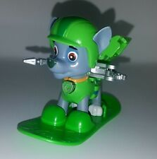 PAW Patrol Hero Series SNOWBOARD ROCKY Action Pack Pup Winter Rescues