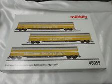 Marklin 48059 HO Goods Wagon Set