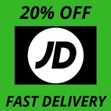 JD SPORTS 20% DISCOUNT CODE Limited Time Only- FAST DELIVERY - UK ONLY