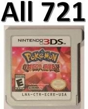 Pokemon Omega Ruby Unlocked All 721 2DS 3DS XL Competitive IV Natures Moveset
