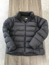 The North Face 700 Goose Down Puffer Jacket Black Size Large Women's Euc