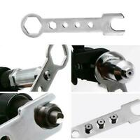 Professional Electric Rivet Nut Gun Adaptor Insert Tool Power Drill Kit Cor O6H4