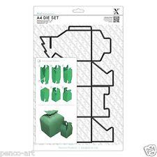 Xcut 1 Pieza A4 Die hacer un 8cm alta árbol de Navidad caja superior utilizar Xpress Máquina