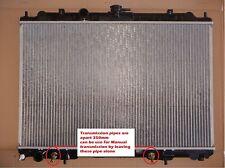 Radiator Nissan X Trail Xtrail Auto Manual 2001-07 T30 2.5L Apart Oil Connection