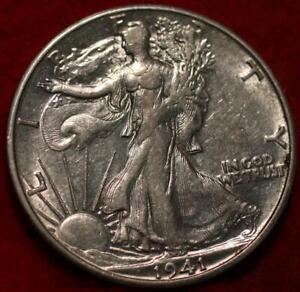 1941-S San Francisco Mint Silver Walking Liberty Half