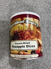 Emergency Survival Food. Provident Pantry Freeze Dried Pineapple Dices. #10 Can
