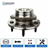 For 1997 1998 1999 2000 Ford F-150 Front Wheel Bearing and Hub -12mm ABS 4WD
