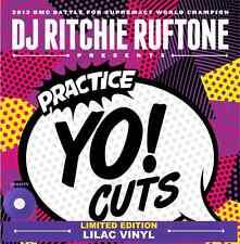 DJ RICHIE RUFTONE PRACTICE YO CUTS VOLUME 1 LILAC COLOURED VINYL ** SCRATCH