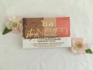New in box URBAN DECAY Stay Naked Threesome Highlighter Blush Bronzer Palette