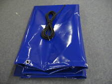 TRAILER COVER 5 FT X 4FT, HEAVY DUTY 700GM PVC, WITH EYELETS, SHOCKCORD, UK MADE
