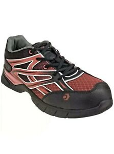MENS WOLVERINE JETSTREAM, CarbonMax toe sneaker, size 13M, W10674, New Black Red