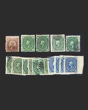 Vintage: Mexico 1874-82 Scott # 136,150-52,55-56,60-62 $ 87.80 Lot # Mex1874Q