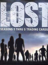 Lost Seasons 1-5 Card Album
