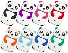 HOUSSE DE COUVERTURE CHIQUENAUDE X IPHONE 4 SILICONE DOUCE OURS PANDA
