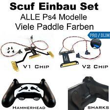Ps4 Scuf set, Easy remapper soldadura con estaño, incl. paddles y tornillos, todos los modelos