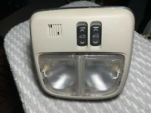 2010 Chevrolet HHR interior dome light, sunroof switch and mic grey OEM