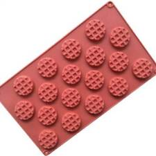 Silicone Waffle Cookies Chocolate Mould Fondant Pastry Mold Cake Mold.'