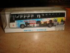 Rietze #61608 HO 1/87 Volvo B12 600 bus ADI-REISEN Erfurt     MIB (50/051)