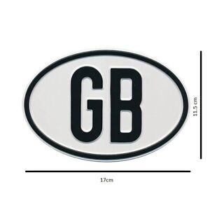 Universal Vintage Classic Car Metal GB Badge VW Volkswagen Beetle Camper