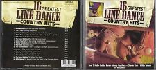 CD 16 GREATEST LINE DANCE COUNTRY HITS CHARLIE RICH/BOBBY BARE/NELSON/AXTON ....