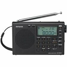 Aiwa World Band Radio Pearl Black Ar-Md20 Receiving station memory 550 F/s