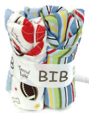 Baby Gift Bib Bouquet 4-pc Set Sports Theme Trend Lab Little Mvp #102625 - New