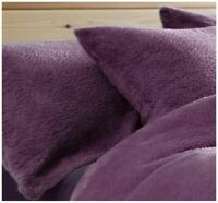 Teddy Fleece Luxury Cosy Warm Soft Bedding Sets Pillow Cases[only pillow]