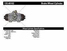 Drum Brake Wheel Cylinder-DX, Coupe Rear Right Centric 135.40102