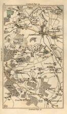 Dartford Crayford Bexley Sutton à affûter Farningham Wilmington SWANLEY Carte de 1786